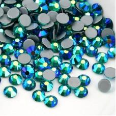 Термоклеевые стразы Blue Zircon AB